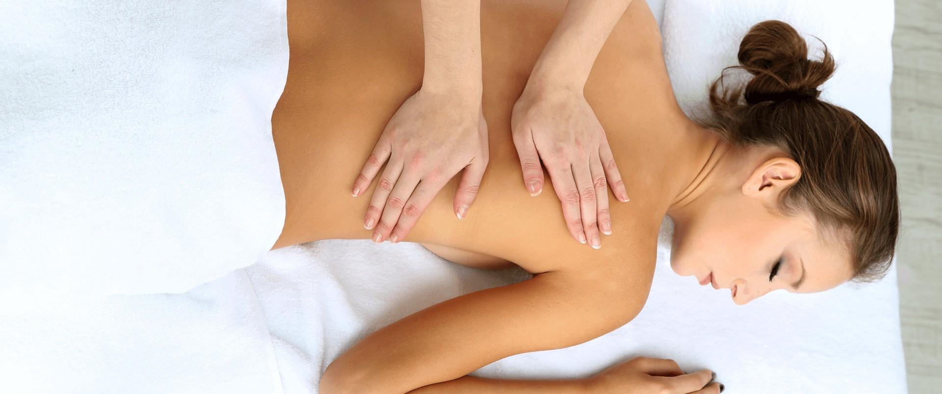 Gabinet masażu - masaż leczniczy